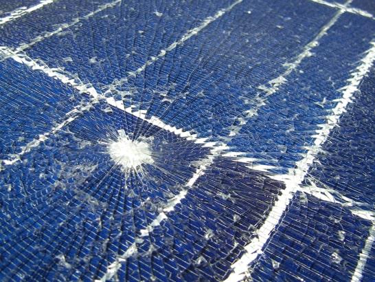 Solarmodul Hagelschaden nachweisen