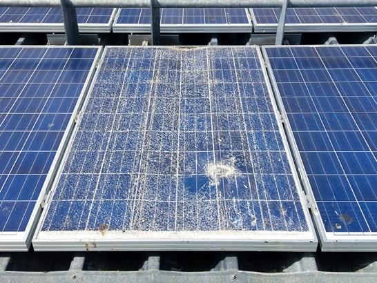 Solarmodul Sturmschaden nachweisen
